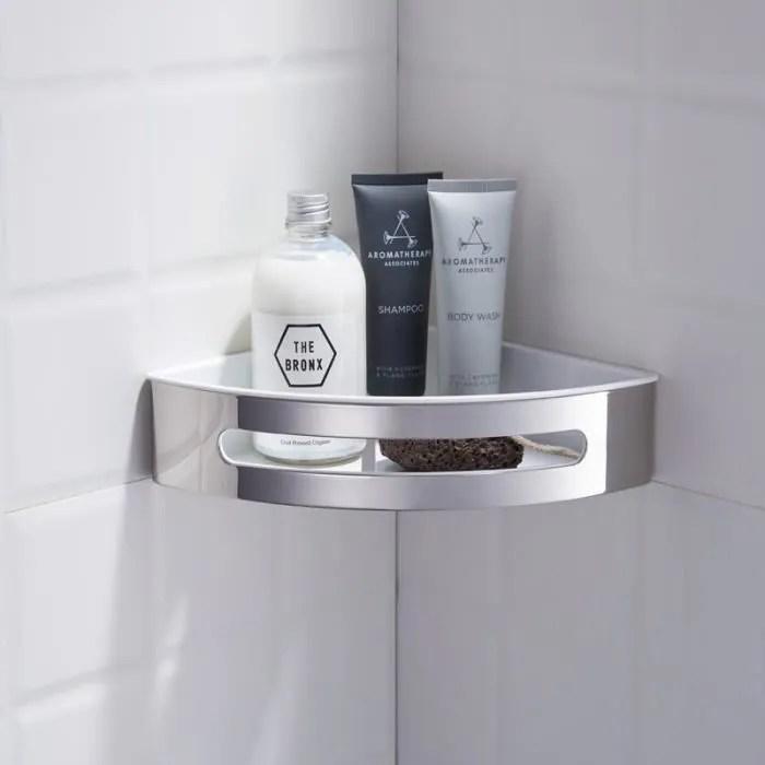 etageres d angle panier de salle de bain d angle e