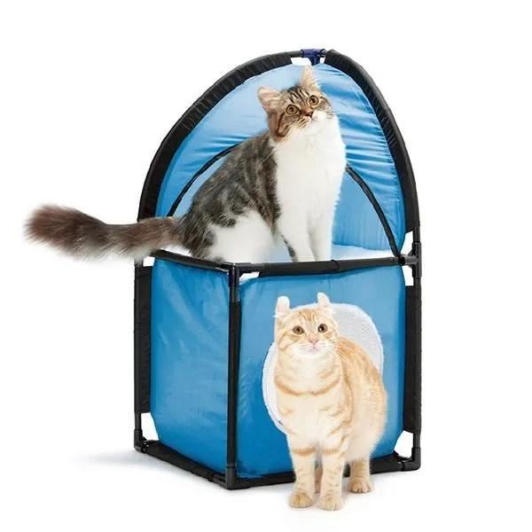 chats niche pour chat cubique