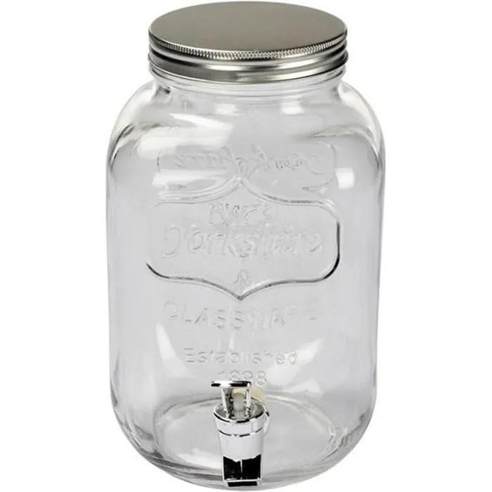 fontaine a boisson en verre