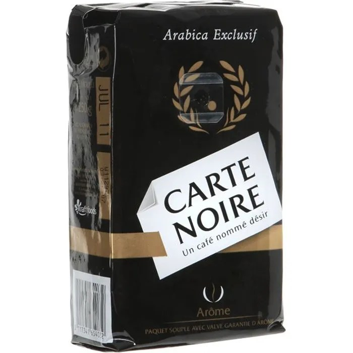 carte noire cafe moulu 250g