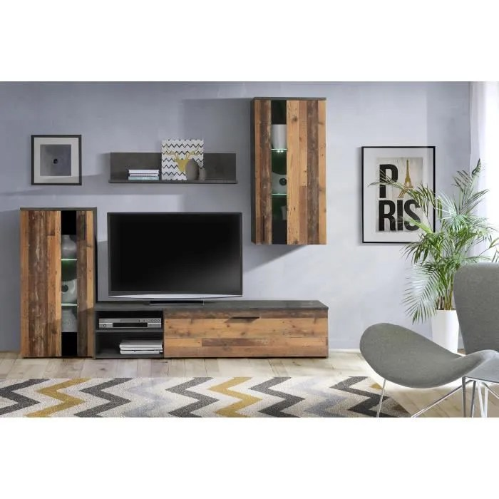 arantus ensemble meuble tv 213 x 184 x 41 3 cm