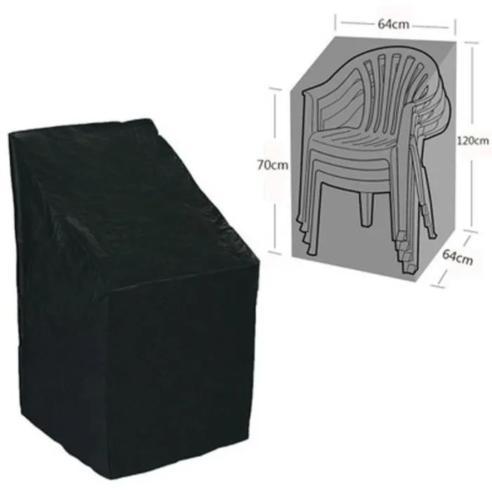 housse protectrice pour fauteuils de jardin en polyester oxford etanche antipoussiere 64 x 64 x 120cm 70cm