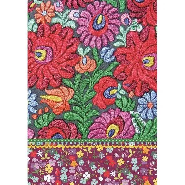 exclusive edition tapis motif fleurs pop shabby