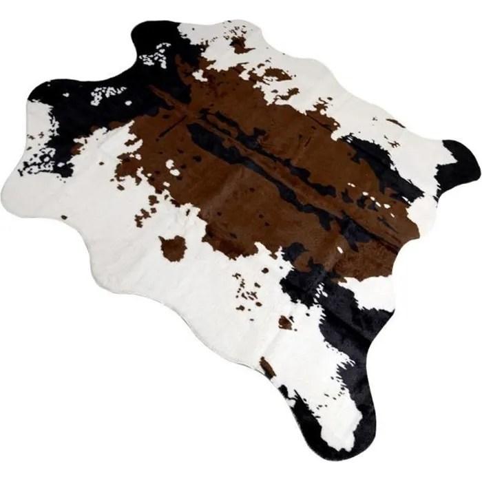 tapis imitation peau de vache