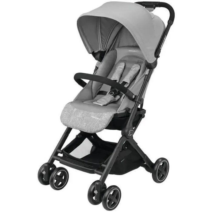 bebe confort poussette ultra compacte lara nomad grey