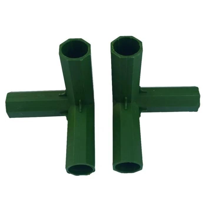 4 pieces 16mm pvc construction raccords de construction connecteurs de meubles de cadre de serre