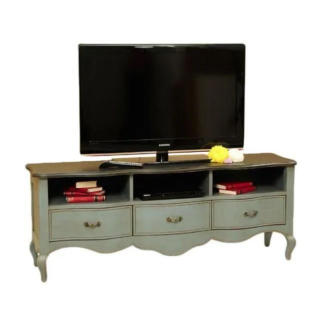 meuble tv baroque en pin massif 3