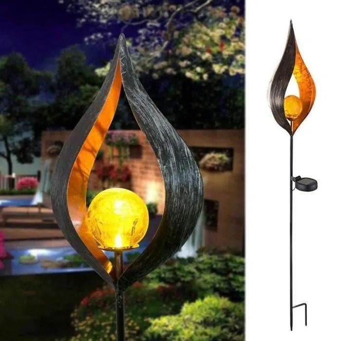 Solaire Lampadaire Exterieur Led Retro Fer Bronze Soleil Angle Mars Lampes Solaires Famme Lumiere Lampadaire De Jardin Pelouse Cdiscount Maison