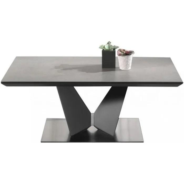table basse ceramique force b la table gris fonce