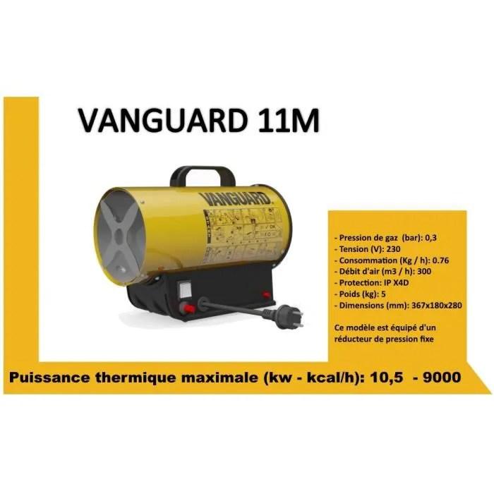 generateur canon d air chaud gaz propane butane