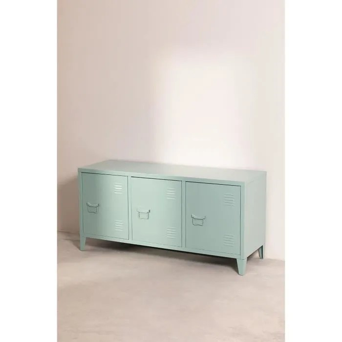 buffet meuble tv acier style industriel