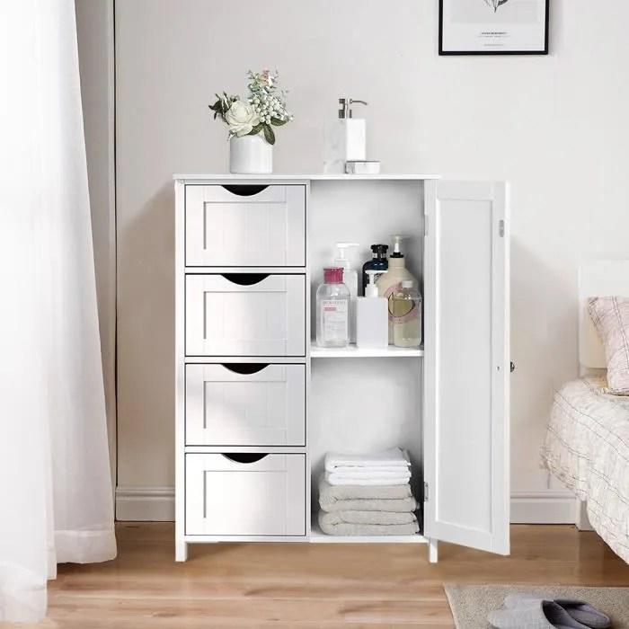 6 pcs haute qualite meubles de rangement pour cham