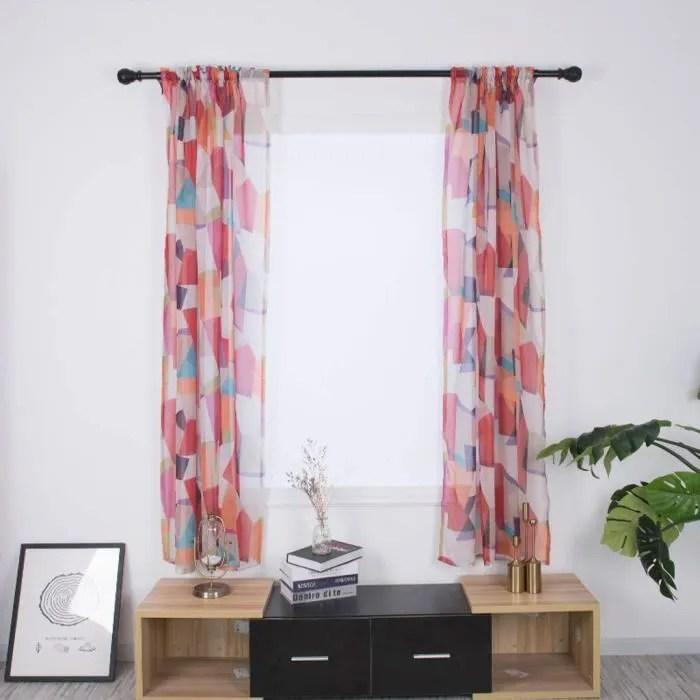 rideau d occultation 2pcs tissu pour rideaux fil
