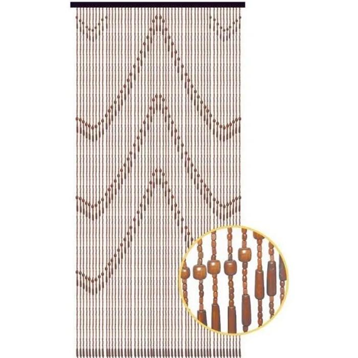 90x200 cm rideau de porte perles olives