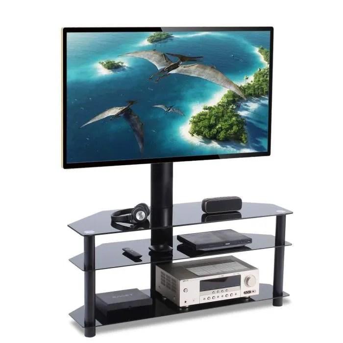 أفلام بريق ساهر meuble tv avec support ecran plat