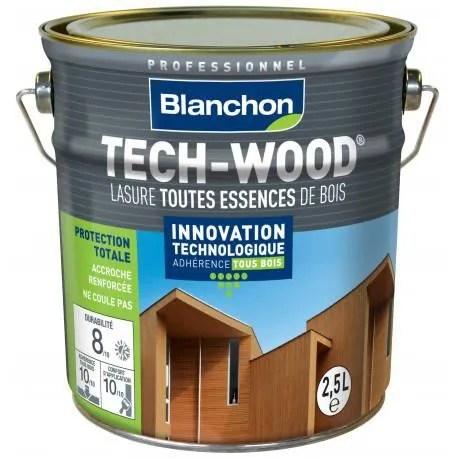 lasure tech wood chene dore 2 5l blanchon