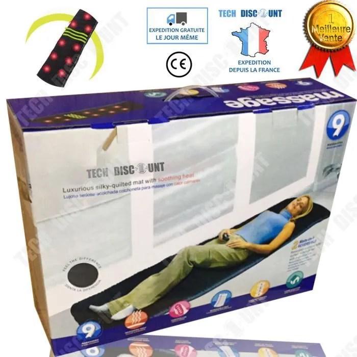 td tapis de massage electrique anti stress anti d