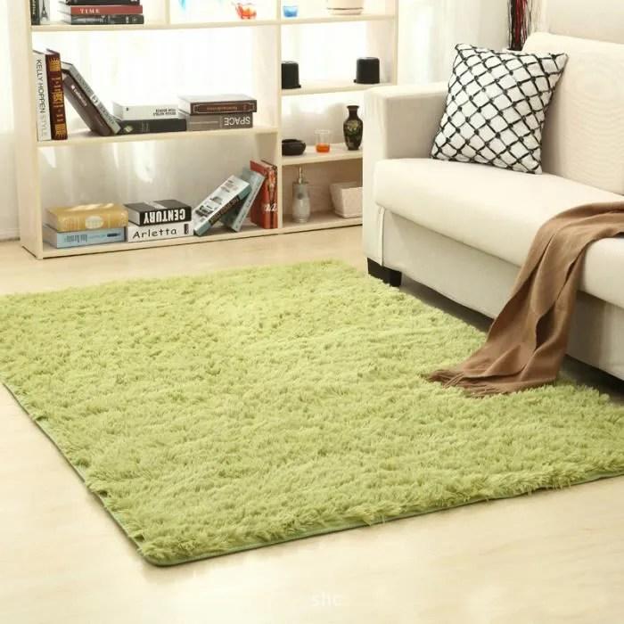 tapis de salon shaggy gris la chambre de tapis ve