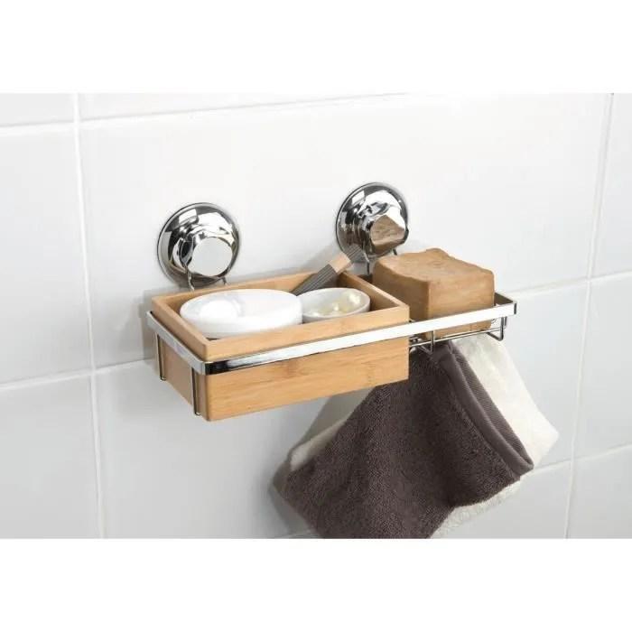 etagere de bain a ventouse avec porte savon bestlo