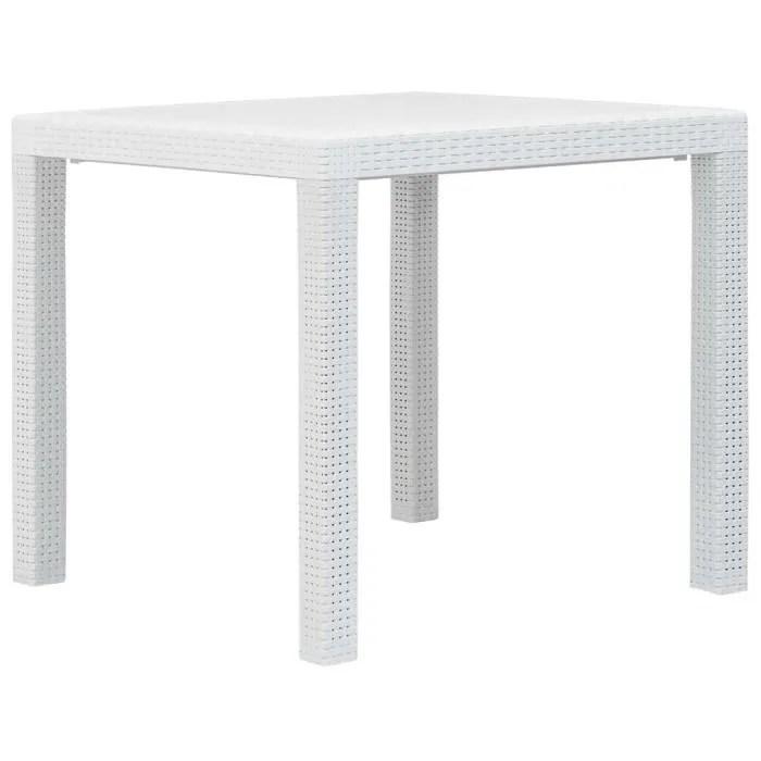 table de jardin table basse table d appoint blanc