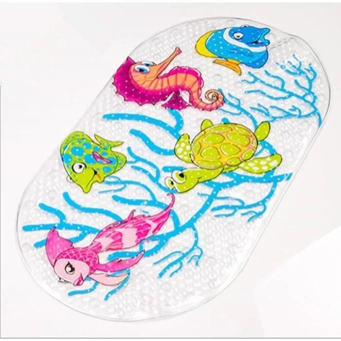 demeuble tapis de bain enfant antiderapant sans