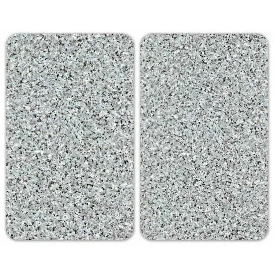 Couvre Plaques De Cuisson Granit Lot De 2 Wenko Cdiscount Maison