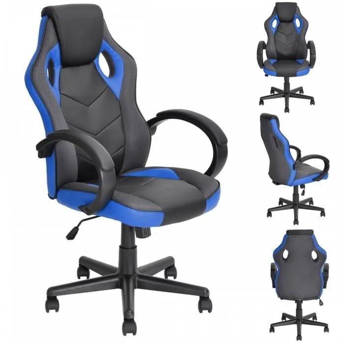 fauteuil de bureau player bleu achat