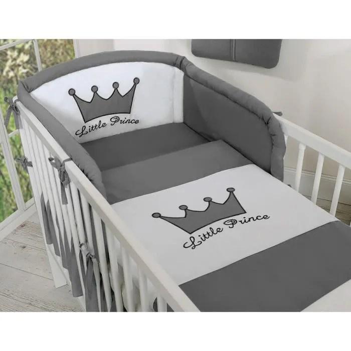 tour de lit bebe princesse