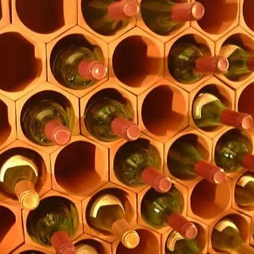 Paquet De Cellules De Casier A Vin En Terre Cuite De 50 Achat Vente Meuble Range Bouteille Cellule De Casier A Vin En Cdiscount