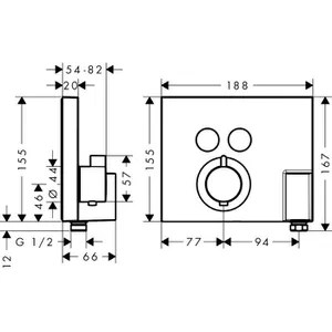 hansgrohe selection cdiscount