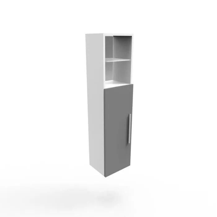 salle de bain gris et blanc l30 x