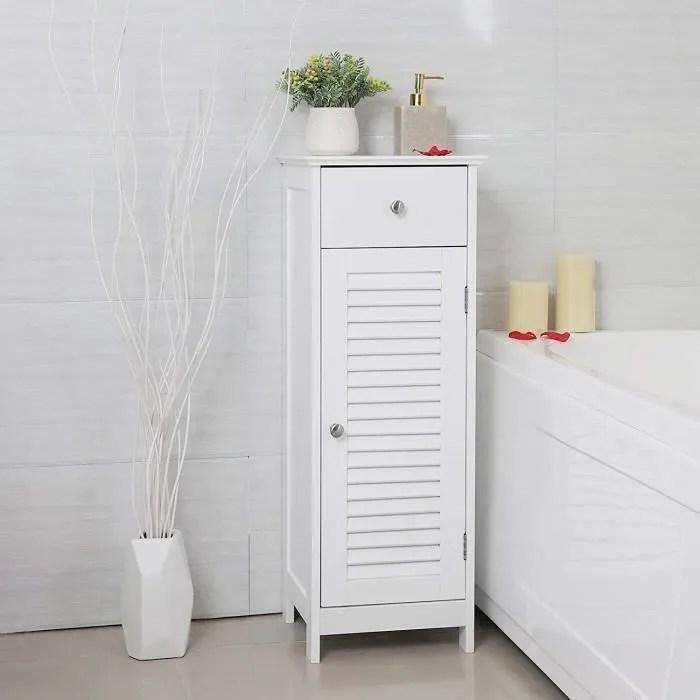 vasagle meuble bas salle de bain meuble de rangeme