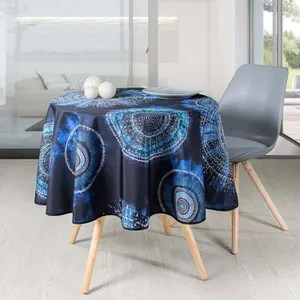 nappe rectangulaire valdrome bleue 250