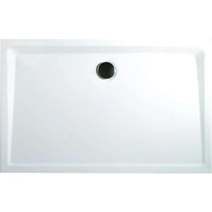receveur de douche rectangulaire 100x80 cm bac a