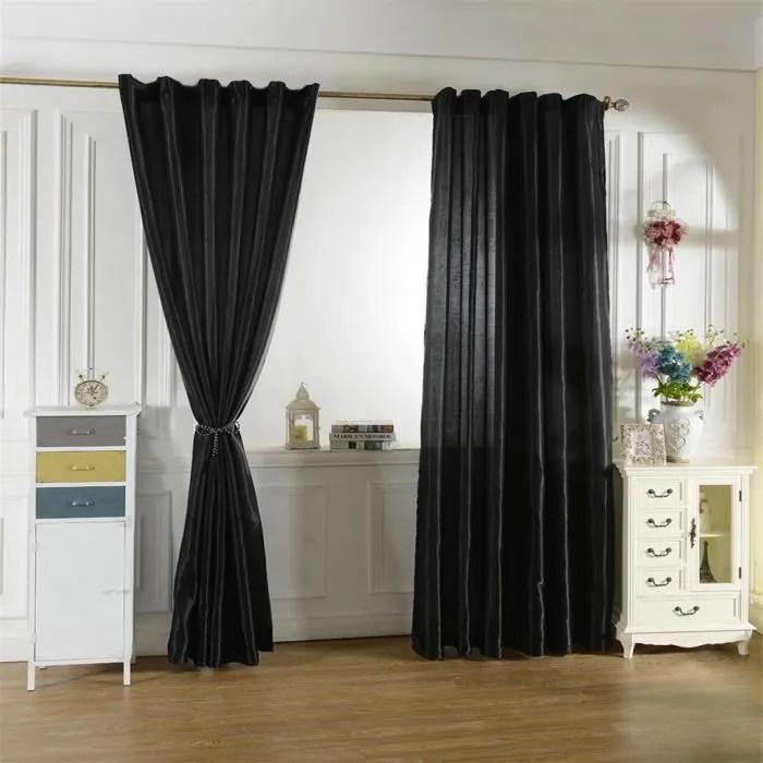 rideau salon occultant isolant thermique pour chambre salon cuisine salle de bain 200x250 cm
