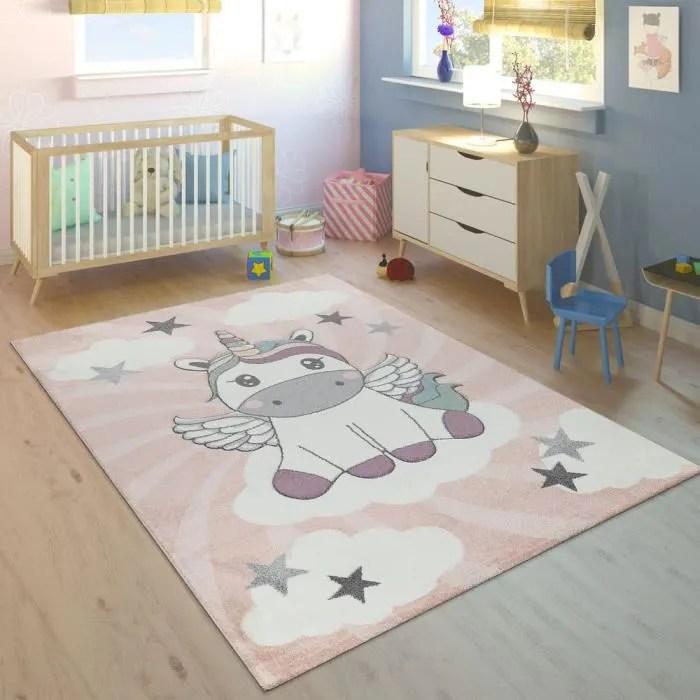 https www cdiscount com maison tapis tapis enfant filles licorne nuages rose violet 80 f 11725 pac4061981051838 html