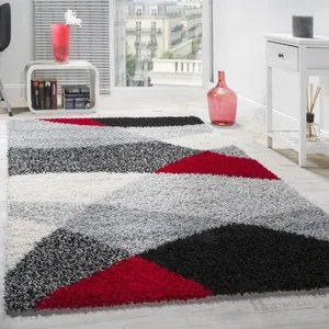tapis shaggy gris cdiscount maison