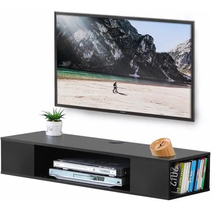 fitueyes meuble tele suspendu pour televiseur de 4