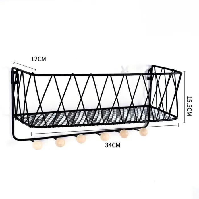 34 12 15 5cm etagere murale cuisine salle de bain en fer etagere de rangement cuisine etageres murale pour douche en metal noir