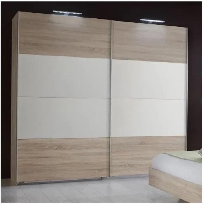 armoire penderie eva 2 portes