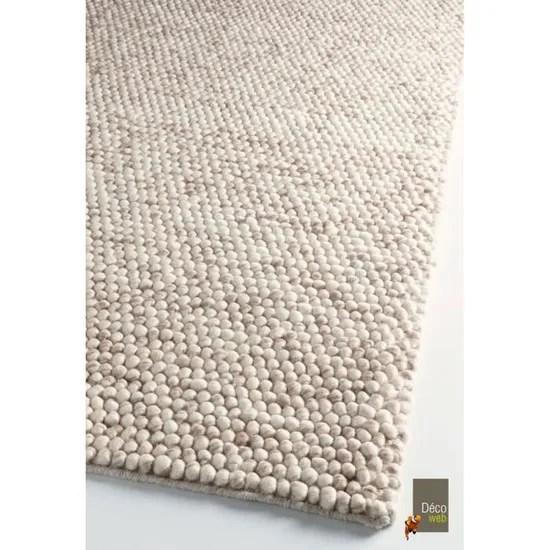 tapis naturel pure laine scandinave