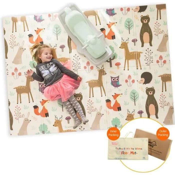 tapis de jeu pour bebe enfant tapis d