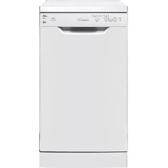 candy cdp 2l1049w 01 lave vaisselle pose libre largeur 45 cm profondeur 58 cm hauteur 85 cm blanc