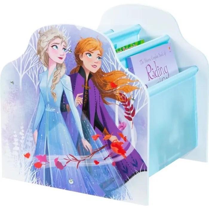 la reine des neiges bibliotheque a pochettes pour enfants rangement de livres pour chambre d enfant