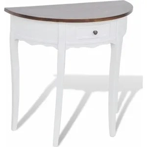 Table Demi Lune Extensible Cdiscount