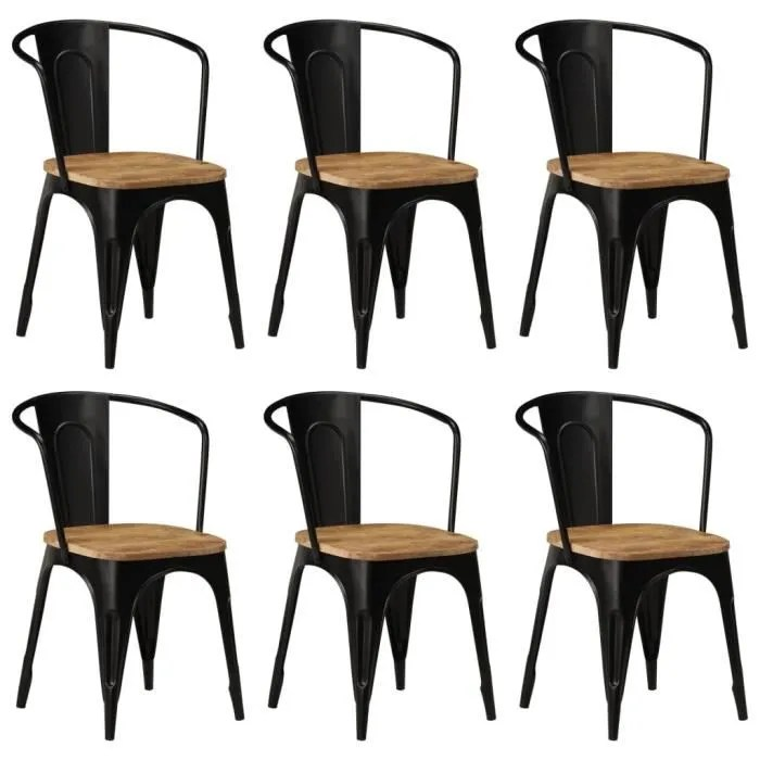 lot de 6 chaises de salle a manger