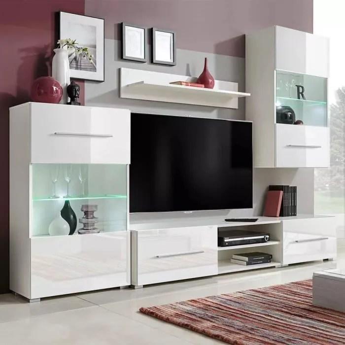 luxueux meuble tv meuble salon sejour hi fi mura