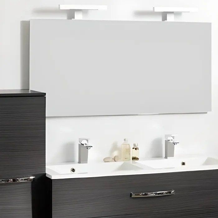 miroir salle de bain adept 120 x 60 cm