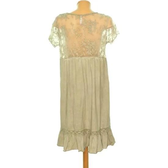 robe blanche porte taille 42