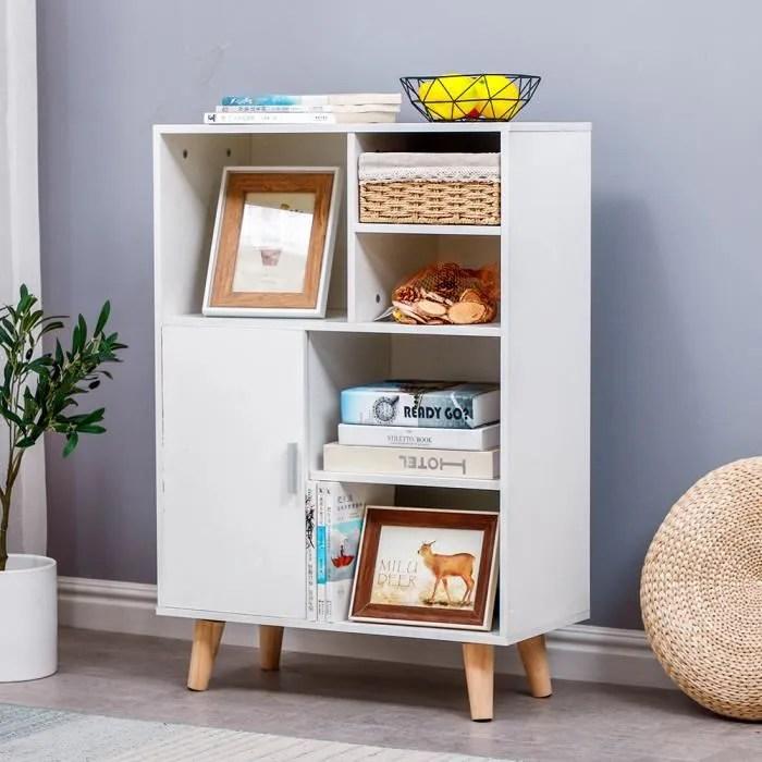 bibliotheque meuble de rangement avec portes bureau
